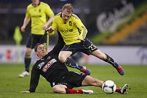 Michael Krohn-Dehli (Br�ndby IF), Mads Winther Alb�k (FC Midtjylland)