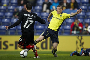 Mads Winther Alb�k (FC Midtjylland), Mikkel Thygesen (Br�ndby IF)