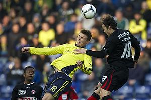 Nicolaj Agger (Br�ndby IF), Erik Sviatchenko (FC Midtjylland)