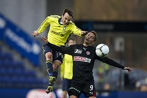 Mike Jensen (Br�ndby IF), Jakob Poulsen (FC Midtjylland)