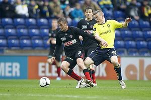 Jakob Poulsen (FC Midtjylland), Mikkel Thygesen (Br�ndby IF)