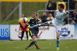 Anders Randrup (Br�ndby IF), Eyjolfur Hedinsson (S�nderjyskE)
