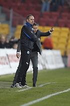 Carsten V. Jensen, cheftr�ner (FC K�benhavn), Kasper Hjulmand, cheftr�ner (FC Nordsj�lland)