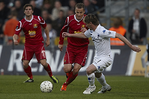 C�sar Santin (FC K�benhavn), Nicolai Stokholm, anf�rer (FC Nordsj�lland)