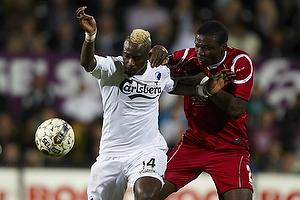 Dame N´Doye (FC K�benhavn), Jores Okore (FC Nordsj�lland)