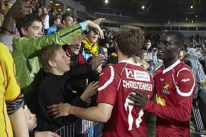 S�ren Christensen (FC Nordsj�lland), Enock Kofi Adu (FC Nordsj�lland)