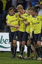 Simon Makienok Christoffersen, m�lscorer (Br�ndby IF), Mikkel Thygesen (Br�ndby IF), Mathias Gehrt (Br�ndby IF), Jan Frederiksen (Br�ndby IF)