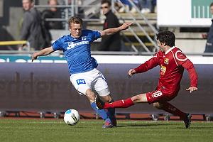 Emil Larsen (Lyngby BK), Michael Parkhurst (FC Nordsj�lland)