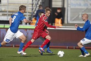 Tobias Mikkelsen (FC Nordsj�lland), Morten Bertolt (Lyngby BK)
