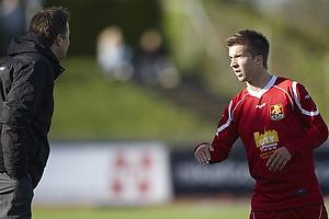 Kasper Hjulmand, cheftr�ner (FC Nordsj�lland), Andreas Laudrup (FC Nordsj�lland)