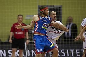 Mikkel Hansen (AG K�benhavn), Boris Schnuchel (KIF Kolding)