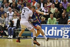 Gudj�n Valur Sigurdsson (AG K�benhavn), Lukas Karlsson (KIF Kolding)