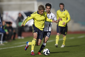 Jens Larsen (Br�ndby IF), Osama Akharraz (Agf)