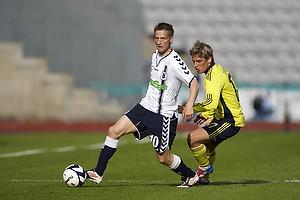 Martin J�rgensen (Agf), Jens Larsen (Br�ndby IF)