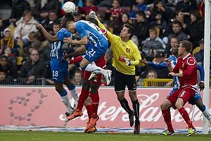 Jesper Hansen (FC Nordsj�lland), Rurik Gislason (Ob), Andreas Bjelland (FC Nordsj�lland)
