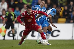 Mikkel Beckmann (FC Nordsj�lland), Kalilou Traor� (Ob)