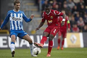 Morten Skoubo (Ob), Jores Okore (FC Nordsj�lland)