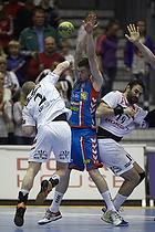 Niclas Ekberg (AG K�benhavn), Lukas Karlsson (KIF Kolding), Cyril Viudes (KIF Kolding)