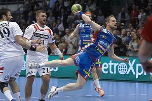 Snorri Gudj�nsson (AG K�benhavn), Cyril Viudes (KIF Kolding)