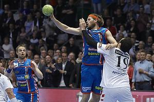 Mikkel Hansen (AG K�benhavn), Cyril Viudes (KIF Kolding)