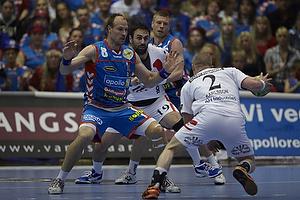Lars J�rgensen (AG K�benhavn), Cyril Viudes (KIF Kolding), Lukas Karlsson (KIF Kolding), Gudj�n Valur Sigurdsson (AG K�benhavn)