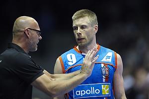 Magnus Andersson, cheftr�ner (AG K�benhavn), Gudj�n Valur Sigurdsson (AG K�benhavn)