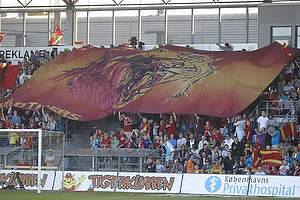 FCN-fans med tifo