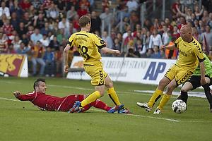 Mikkel Beckmann (FC Nordsj�lland), Jeppe Mehl (AC Horsens)