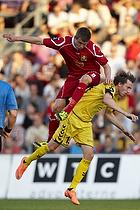 Andreas Bjelland (FC Nordsj�lland), Lasse Kryger (AC Horsens)