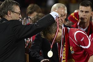 Nicolai Stokholm, anf�rer (FC Nordsj�lland) f�r sin guldmedalje