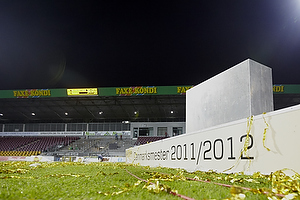 Farum Park efter DM-guldet er blevet hentet