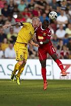 Jores Okore (FC Nordsj�lland), Ken Fagerberg (AC Horsens)