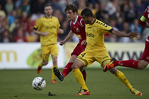 S�ren Christensen (FC Nordsj�lland), Nabil Aslam (AC Horsens)