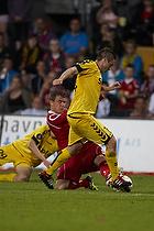 Andreas Bjelland (FC Nordsj�lland), Martin Retov (AC Horsens)