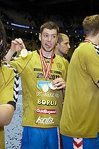 Niclas Ekberg (AG K�benhavn) med guldmedaljen
