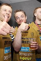Gudj�n Valur Sigurdsson (AG K�benhavn), Snorri Gudj�nsson (AG K�benhavn), Ren� Toft Hansen (AG K�benhavn)