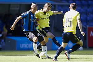 Jens Larsen (Br�ndby IF), Nicolaj Madsen (HB K�ge)