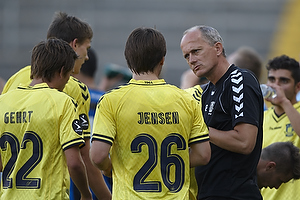 Bent Christensen Arens�e, assistenttr�ner (Br�ndby IF), Mike Jensen (Br�ndby IF)
