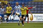 Anders M�ller Christensen, anf�rer (Ob), Mikkel Thygesen (Br�ndby IF)