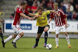 Nicolaj Agger (Br�ndby IF), Henrik Dalsgaard (Aab)