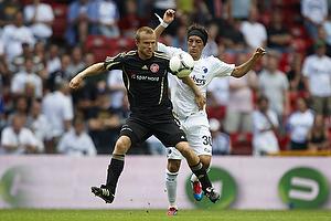 Cristian Bolanos (FC K�benhavn), Rasmus W�rtz (Aab)