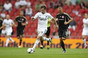 C�sar Santin (FC K�benhavn), Kenneth Emil Petersen (Aab)