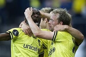 Franck Semou, m�lscorer (Br�ndby IF), Michael Krohn-Dehli (Br�ndby IF)