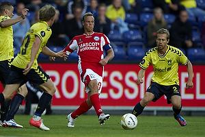 Mikkel Thygesen (Br�ndby IF), Jesper Bech (Silkeborg IF)
