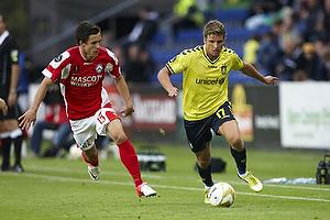 Jens Larsen (Br�ndby IF), Daniel Pedersen (Silkeborg IF)