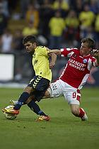 Daniel Norouzi (Br�ndby IF), Marvin Pouri� (Silkeborg IF)