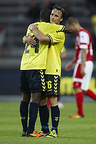 Franck Semou (Br�ndby IF), Mike Jensen (Br�ndby IF)