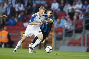 Nicolai J�rgensen (FC K�benhavn), Carl Hoefkens, anf�rer (Club Brugge KV)