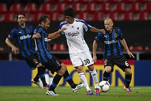 Cristian Bolanos (FC K�benhavn), Niki Zimling (Club Brugge KV)