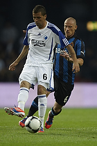 Claudemir De Souza (FC K�benhavn), Niki Zimling (Club Brugge KV)